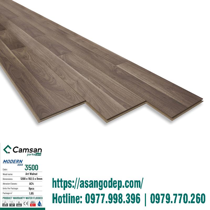 Sàn gỗ Camsan mã 3500