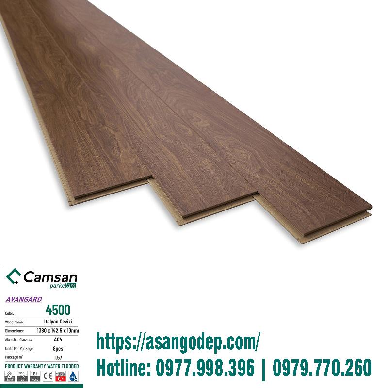 Sàn gỗ Camsan mã 4500