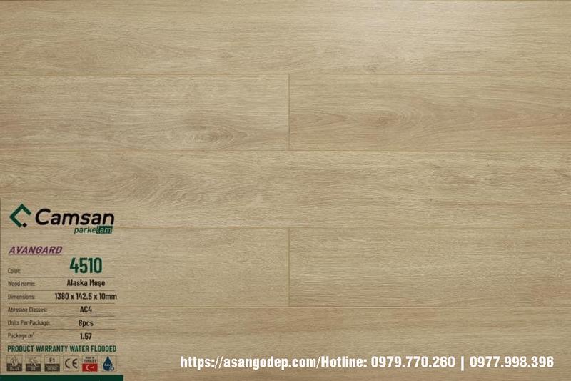Sàn gỗ Camsan Thổ Nhĩ Kỳ 4510