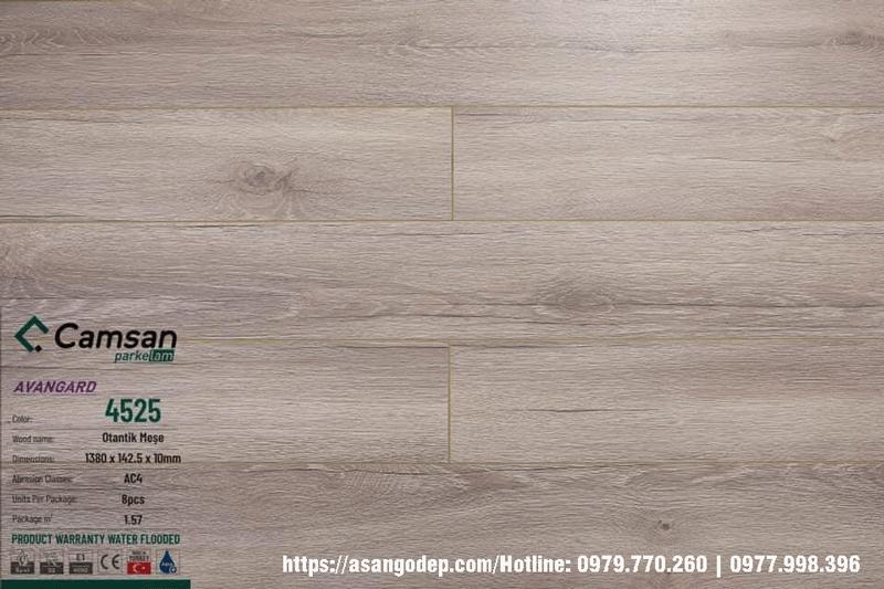 Sàn gỗ Camsan Thổ Nhĩ Kỳ 4525