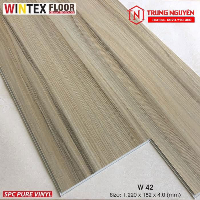 Sàn nhựa hèm khóa wintex Floor W42