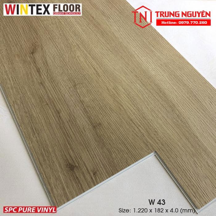 Sàn nhựa wintex Floor W43