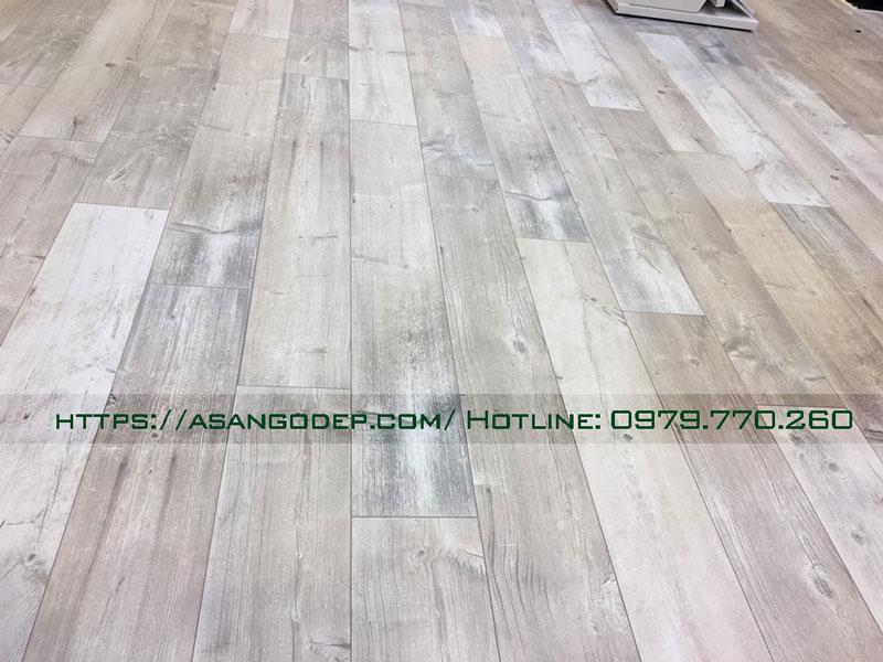 Sàn gỗ Berry Alloc hèm nhôm cao cấp
