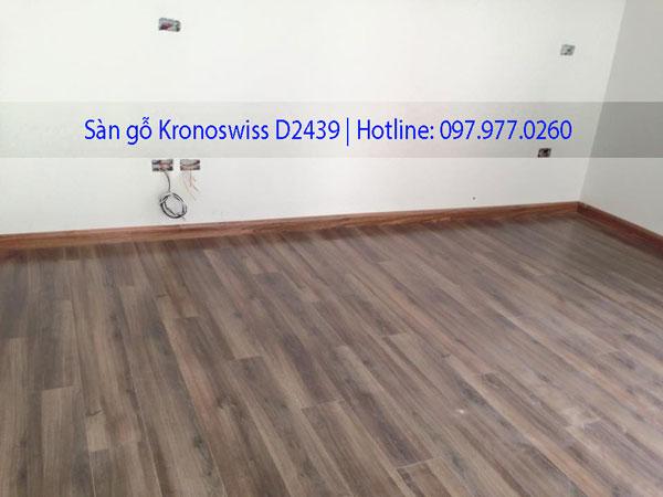 Ảnh thực tế sàn gỗ Kronoswiss D2439