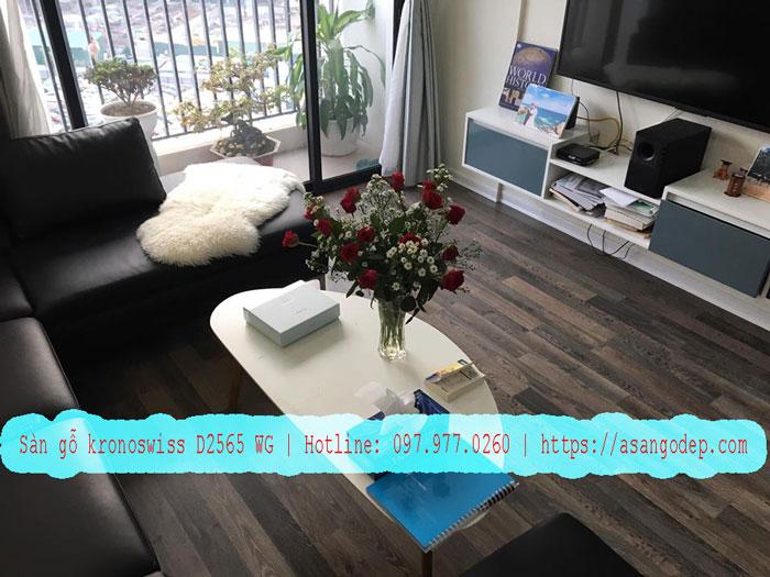 Hình ảnh thực tế sàn gỗ Kronoswiss D2565 wg