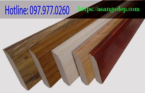Phào chân tường gỗ công nghiệp