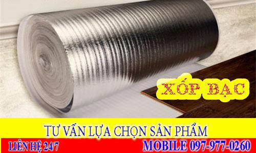 Xốp bạc lót sàn gỗ 2mm, 3mm, 5mm