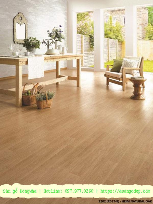 Sàn gỗ hàn quốc Dongwha R01T