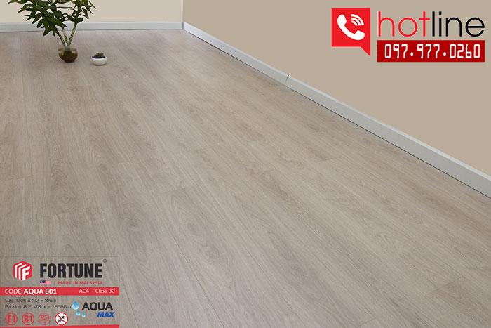 Sàn gỗ Fortune Aqua 801