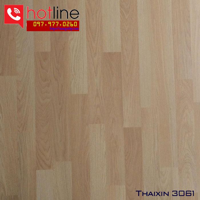 Sàn gỗ Thaixin 8mm 3061