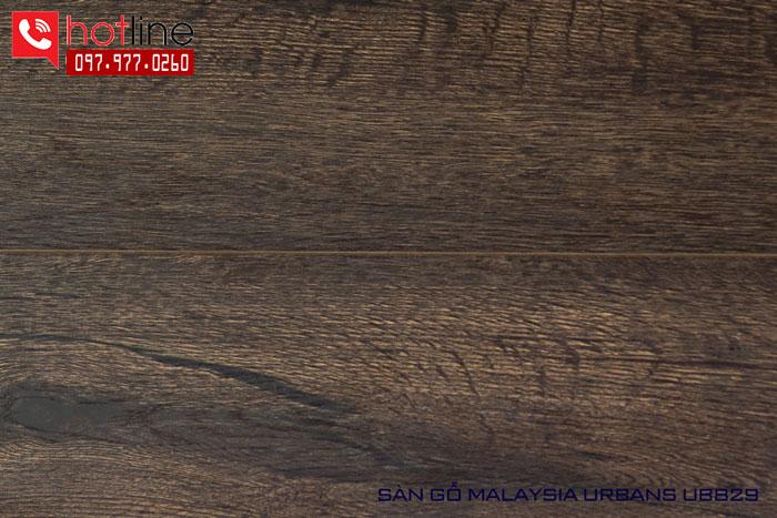 Sàn gỗ Urbans 12mm UB829