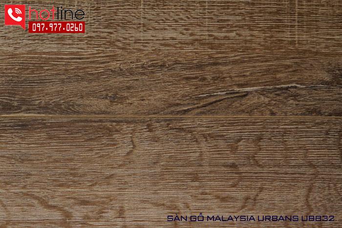 Sàn gỗ Urbans 12mm UB 832