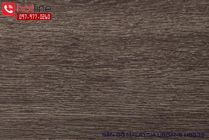 Sàn gỗ Urbans 12mm UB 835
