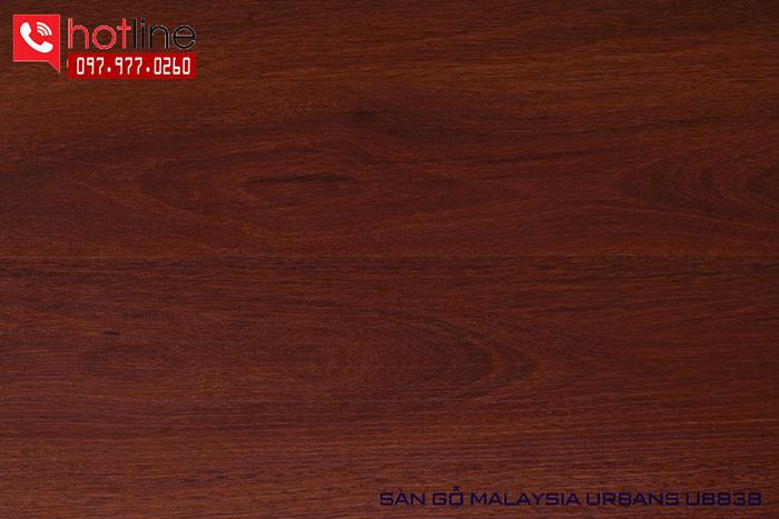 Sàn gỗ Urbans 12mm UB 838