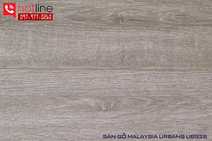 Sàn gỗ Urbans 12mm UB 928