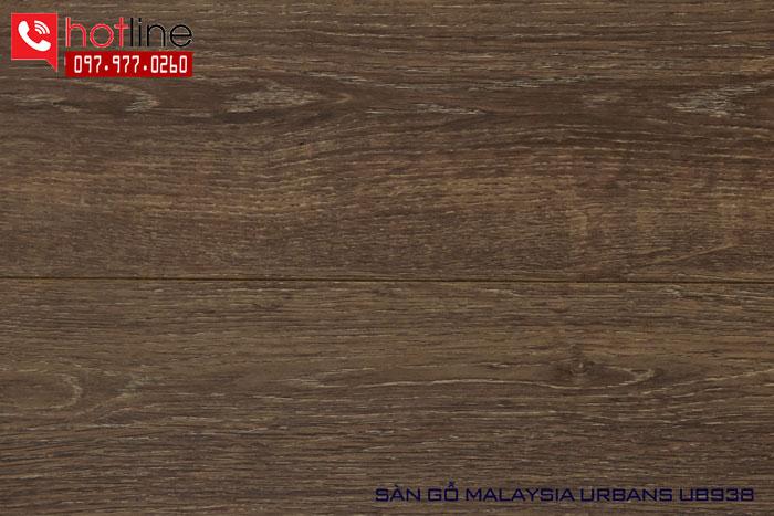 Sàn gỗ Urbans 12mm U938