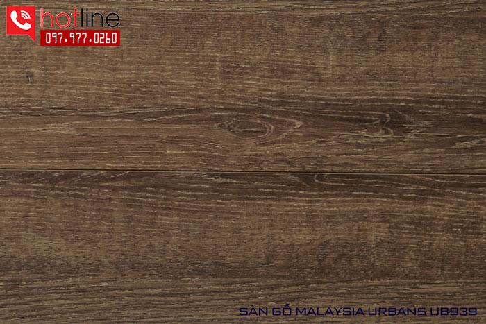 Sàn gỗ Urbans 12mm U939