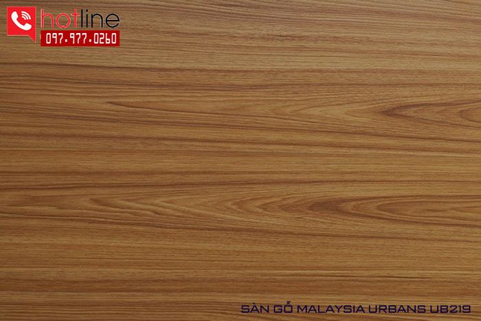 Sàn gỗ Urbans 8mm UB 219