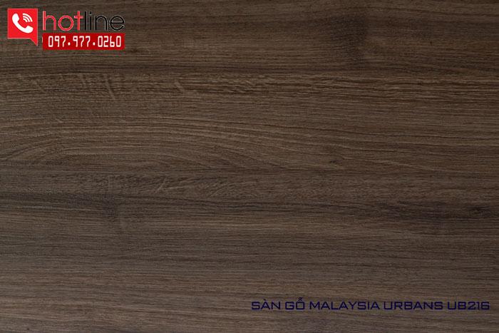 Sàn gỗ Urbans 8mm UB 216