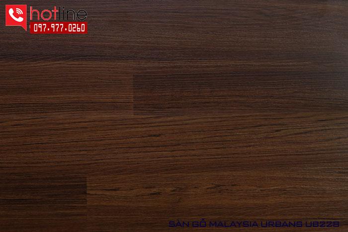Sàn gỗ Urbans 8mm UB 228