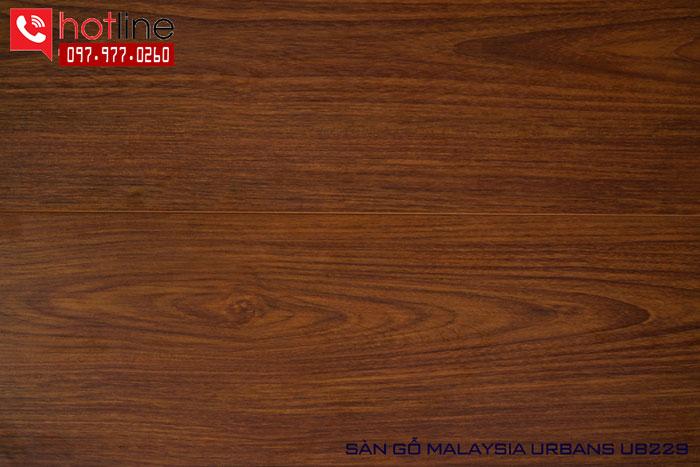 Sàn gỗ Urbans 8mm UB 229