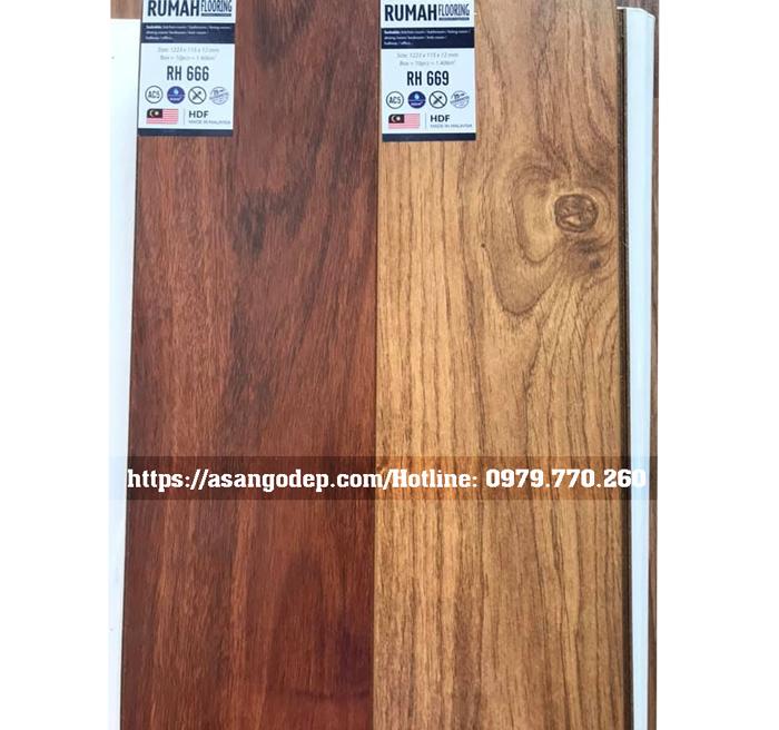 Báo giá Sàn gỗ RUMAH mới 2019