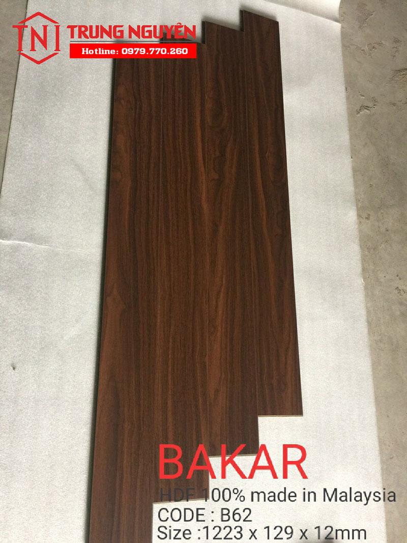 Sàn gỗ cốt xanh Bakar HDF malaysia AC5
