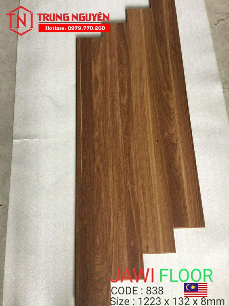 Sàn gỗ Jawi Bản 8mm