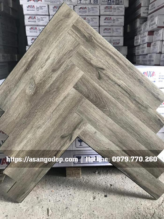 Sàn gỗ xương cá Jawa mã 162