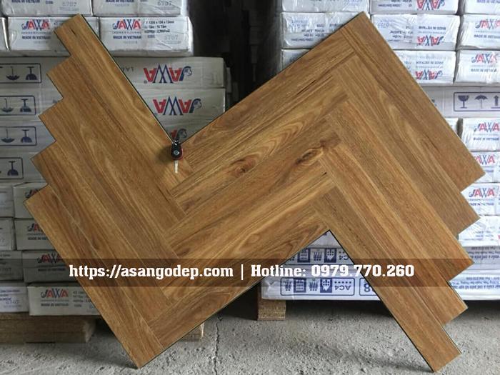 Sàn gỗ xương cá Jawa mã 168