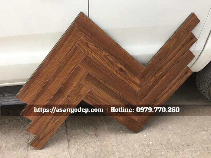 Sàn gỗ xương cá 12mm Jawa