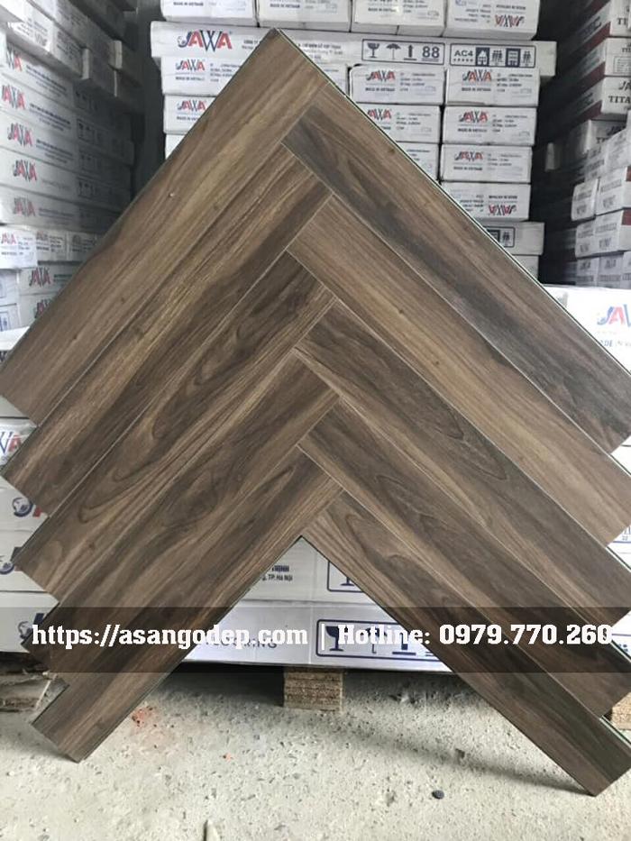 Sàn gỗ xương cá Jawa mã 163