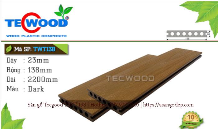 Sàn gỗ Tecwood TWT 138