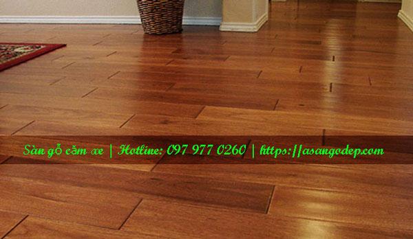 Sàn gỗ tự nhiên căm xe 15x90x450