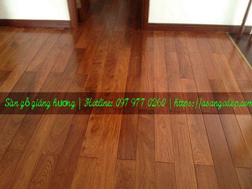 Sàn gỗ giáng hương 15x90x450