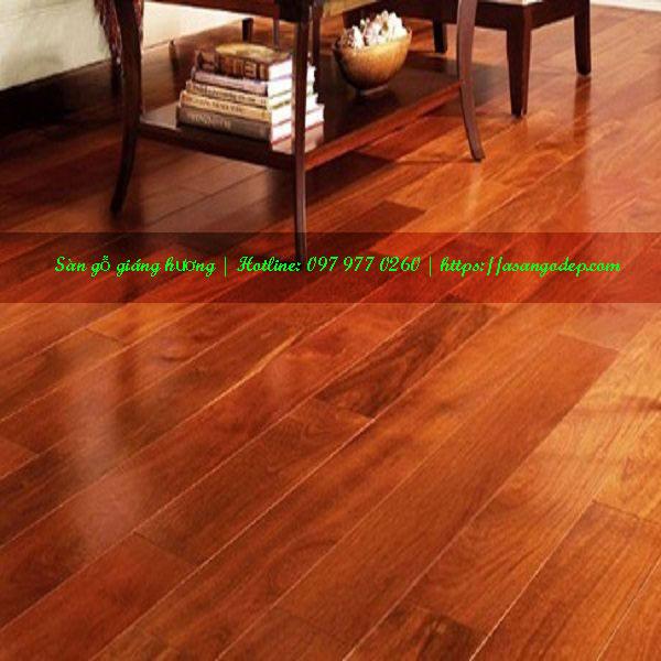 Sàn gỗ giáng hương 18x120x600