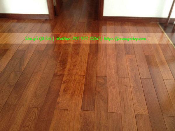 Sàn gỗ gõ đỏ 18x120x900