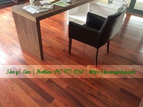 Sàn gỗ lim 15x90x450