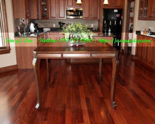 Sàn gỗ lim 15x90x900