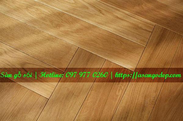 Sàn gỗ sồi 15x90x750