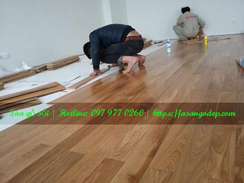 Sàn gỗ sồi 15x90x600