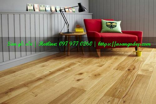 Sàn gỗ sồi 15x90x900