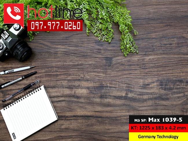 Sàn nhựa MaxFloor mã Max 1039-5