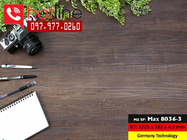 Sàn nhựa MaxFloor mã Max 8036-3