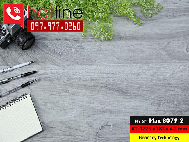 Sàn nhựa MaxFloor mã Max 8079-2