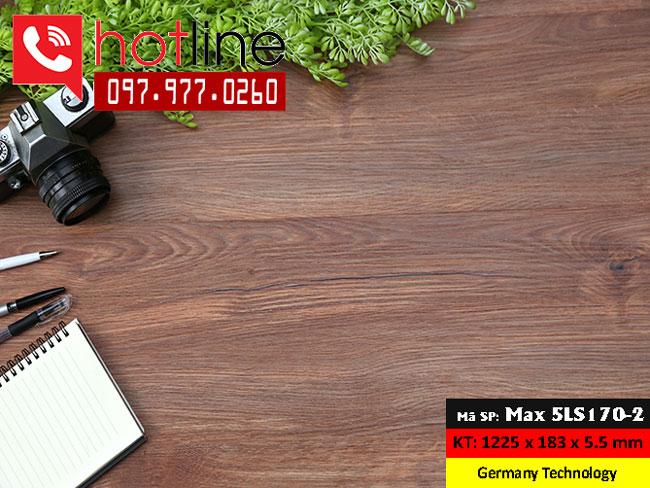 Sàn nhựa MaxFloor mã Max 5LS 170-2