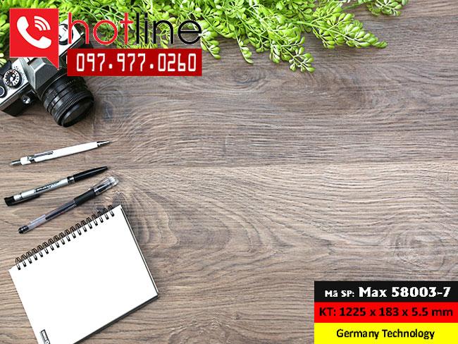 Sàn nhựa MaxFloor mã Max 58003-7