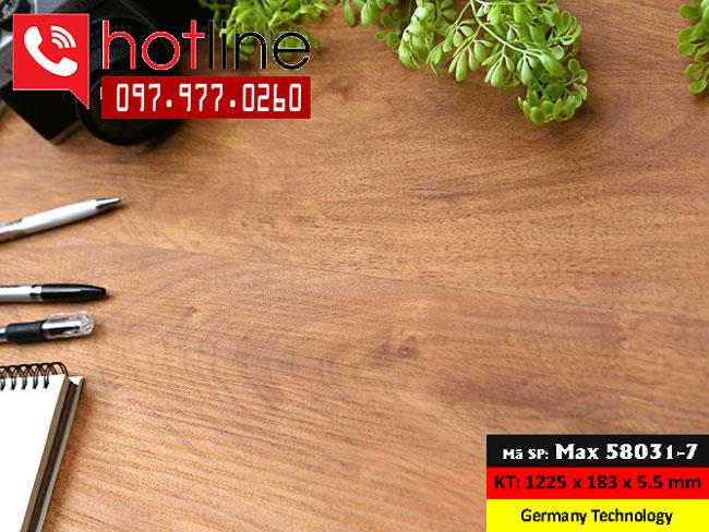 Sàn nhựa MaxFloor mã Max 580031-7
