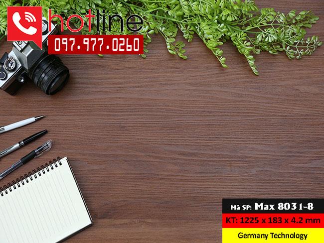Sàn nhựa MaxFloor mã Max 8031-8