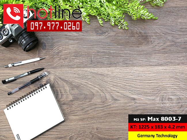 Sàn nhựa MaxFloor mã Max 8003-7